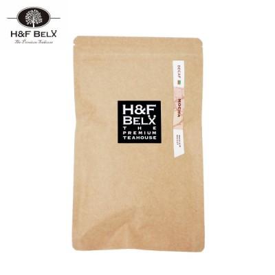 H&F BELX デカフェコーヒー 焙煎豆 モカ 150g [M便 1/3]