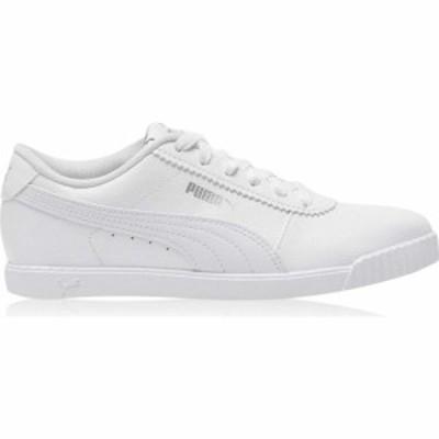 プーマ Puma レディース スニーカー シューズ・靴 Carina Slim Sl Trainers Puma White