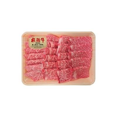 ふるさと納税 飛騨牛もも焼肉用400g(5等級・冷凍) 岐阜県輪之内町