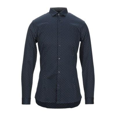 JACK & JONES PREMIUM シャツ ダークブルー XL コットン 98% / ポリウレタン 2% シャツ