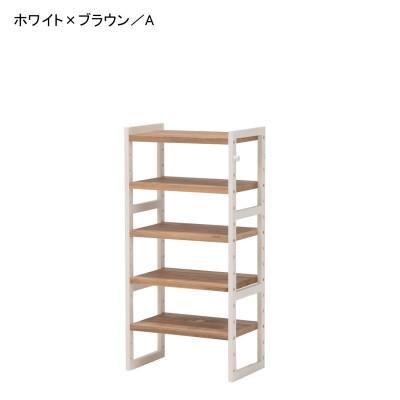 【大型商品送料無料】パイン材のシューズラック