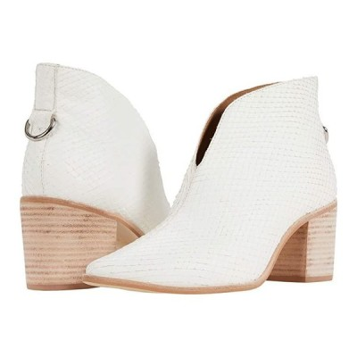 KAANAS Bellone Open Front Snake Bootie レディース ブーツ Ivory