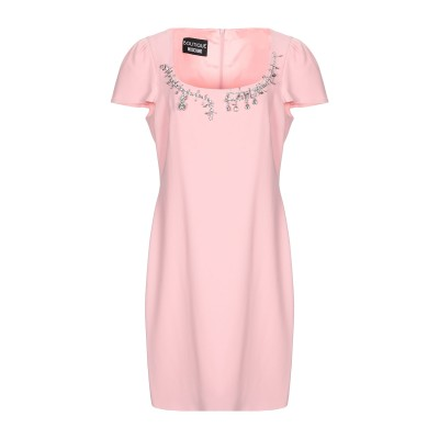 BOUTIQUE MOSCHINO ミニワンピース&ドレス ピンク 46 トリアセテート 70% / ポリエステル 30% ミニワンピース&ドレス