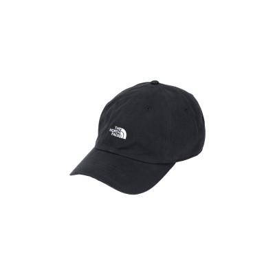 ザ・ノース・フェイス THE NORTH FACE 帽子 ブラック one size コットン 100% 帽子