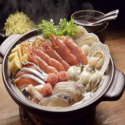 海鮮ごま寄せ鍋セット[Ta503-B194]