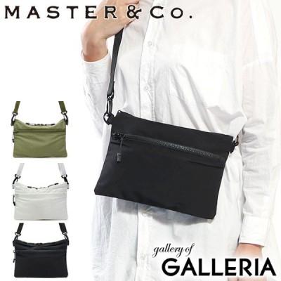 マスターアンドコー サコッシュ MASTER&Co. ショルダーバッグ 60/40 CLOTH 60/40クロス 斜めがけ ミニショルダー メンズ レディース MC1004