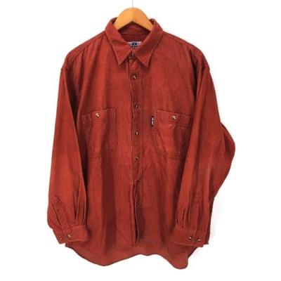 プロケッズ PRO-Keds コーデュロイオーバーサイズシャツ メンズ 2L 中古 古着 210609