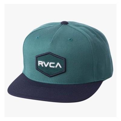 RVCA Commonwealth Snapback Hat Cap Teal キャップ 送料無料