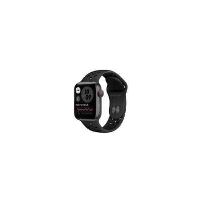 【在庫あり】【 即納!】Apple Watch Nike SE GPS+Cellularモデル 40mm MG013J/A [アンスラサイト/ブラックNikeスポーツバンド]