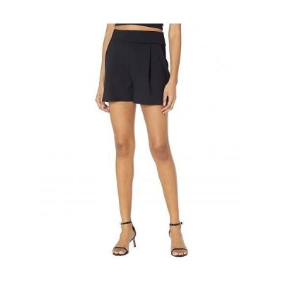 Susana Monaco スザンナモナコ レディース 女性用 ファッション ショートパンツ 短パン Pleated Shorts - Black