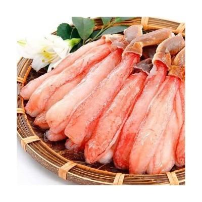 ずわいがに 生 棒肉 ポーション 500g かに カニ 蟹 ズワイガニ ずわい蟹 15?20本入