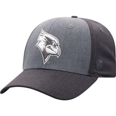 トップオブザワールド Top of the World メンズ キャップ 帽子 Illinois State Redbirds Grey Powertrip 1Fit Flex Hat