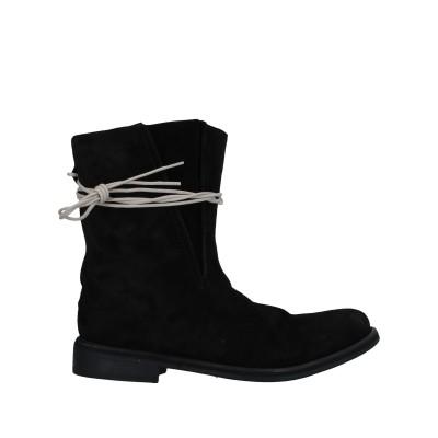 ノストラサンティッシマ NOSTRASANTISSIMA ショートブーツ ブラック 41 牛革 100% ショートブーツ