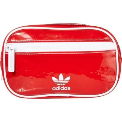 アディダス adidas Originals メンズ ボディバッグ・ウエストポーチ バッグ Originals Tinted Waist Pack Lush Red/White