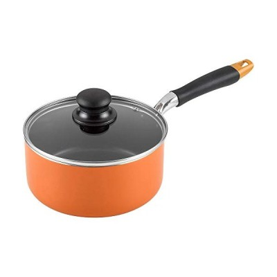 和平フレイズ(Wahei freiz) 片手鍋 オレンジ 片手鍋18cm(ガス火専用) ふっ素樹脂加工 ガス火専用 アッタ RA-9953