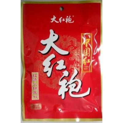 横浜中華街 中国紅 大紅袍 紅湯火鍋底料☆火鍋の素150g