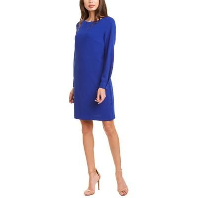 トリーナターク ワンピース トップス レディース Trina Turk Calistoga Shift Dress blue jewel