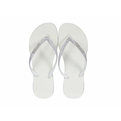 ハワイアナス サンダル シューズ レディース Slim Sparkle Sandal White