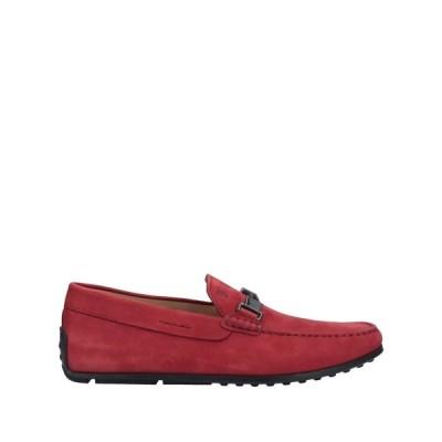 トッズ TOD'S メンズ ローファー シューズ・靴 loafers Red