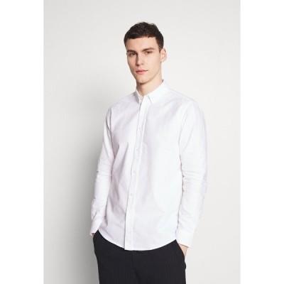 サムスサムス シャツ メンズ トップス LIAM SHIRT - Shirt - white