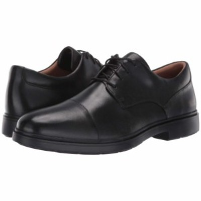 クラークス Clarks メンズ 革靴・ビジネスシューズ シューズ・靴 un tailor cap Black Leather