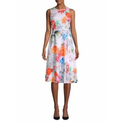 カルバンクライン レディース ワンピース Floral Sleeveless Dress