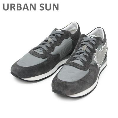 アーバンサン スニーカー ALAIN 101 グレー URBAN SUN メンズ レディース シューズ 靴