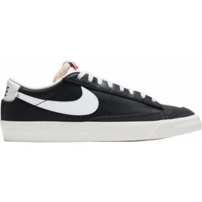 ナイキ メンズ スニーカー シューズ Nike Men's Blazer '77 Vintage Shoes Black/White/Sail