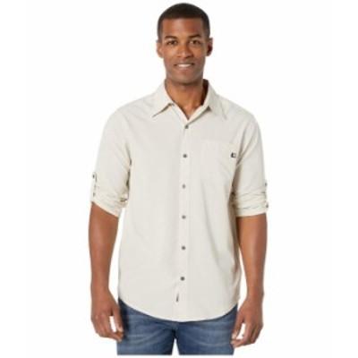 マーモット メンズ シャツ トップス Aerobora Long Sleeve Shirt Moonbeam