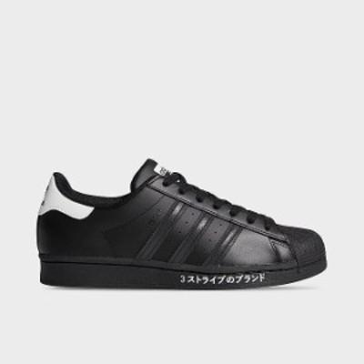 アディダス スタンスミス メンズ adidas Superstar スニーカー Black/Black/White