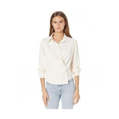 Bishop + Young レディース 女性用 ファッション ブラウス Beautility Wrap Shirt - White