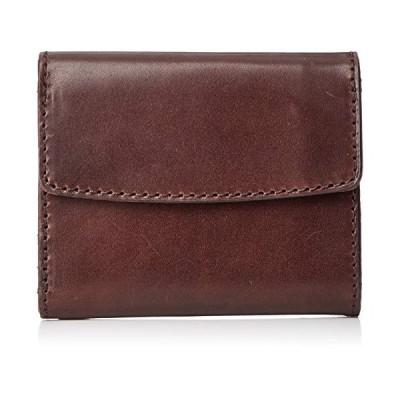 [ノマドイ] アラバマ 三つ折り財布 NAMW2AS4 チョコ