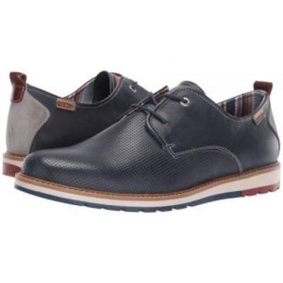 Pikolinos メンズ 男性用 シューズ 靴 オックスフォード 紳士靴 通勤靴 Berna M8J-4273 Blue【送料無料】
