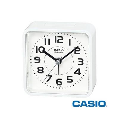 カシオ 置き時計 770J (ホワイト) 置時計 目覚まし時計 コンパクト 電波時計 電子音アラーム スヌーズアラーム
