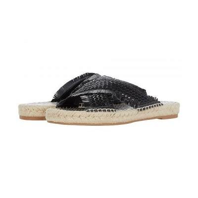 Marc Fisher LTD マークフィッシャーリミテッド レディース 女性用 シューズ 靴 サンダル Tessi - Black Leather Like