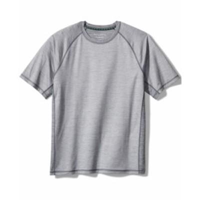 トッミーバハマ メンズ シャツ トップス Delray IslandZone® Crewneck T-Shirt Iced Slate