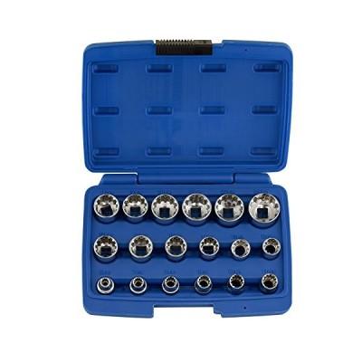 海外より出荷【並行輸入品】NEIKO 02488A 3/8  Drive Universal Spline Socket Set | 18 Piece