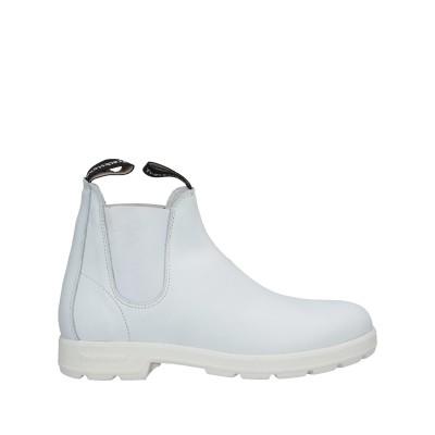 TRACKSTONE® ショートブーツ ホワイト 40 革 ショートブーツ