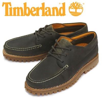 Timberland (ティンバーランド) A2HUJ JACKSONS LNDING MOC TOE ジャクソンズ ランディング モックトゥシューズ Olive Full-Grain TB148