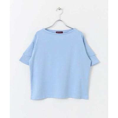 tシャツ Tシャツ TRフレア袖Tシャツ∴