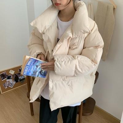 アウター 中綿 ジャケット ゆるかわ ビッグシルエット ゆったり 防寒 きれいめ カジュアル 大人可愛い 韓国ファッション