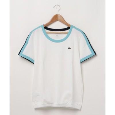 スウェット 『ROLAND GARROS』シリーズ コントラストショルダーデザインTシャツ