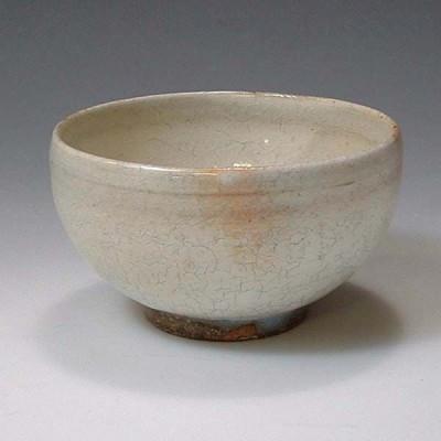清水焼 京焼 お茶呑茶碗 湯呑み 単品 本粉引(ほんこびき) 京都の高級 手作り 和食器 湯飲み茶碗  お茶飲み茶碗 来客用に