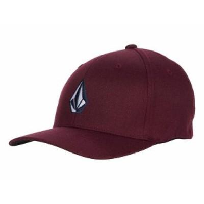 ボルコム メンズ 帽子 アクセサリー Full Stone X-Fit Cap Dark Port
