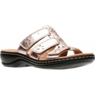 クラークス Clarks レディース サンダル・ミュール シューズ・靴 Leisa Spring Strappy Sandal Rose Gold