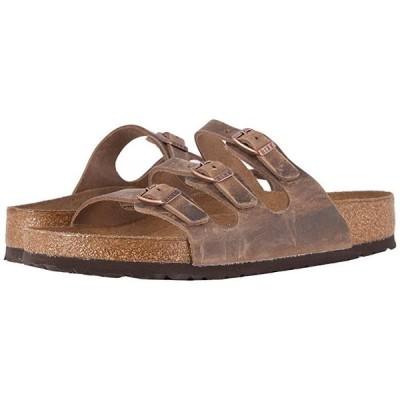 ビルケンシュトック Florida Soft Footbed - Leather レディース サンダル Tobacco Oiled Leather