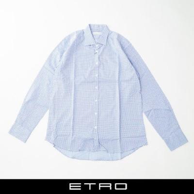 ETRO(エトロ)ボタンダウンシャツ:サックス系:1K6336501250