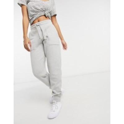 オールセインツ レディース カジュアルパンツ ボトムス AllSaints Lucia coordinating sweatpants in gray Gray heather