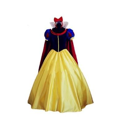 [ウェブエッセンス] コスプレ衣装  白雪姫  ディズニー風   オリジナル ブレスレット 付き (女性S, 衣装のみ)