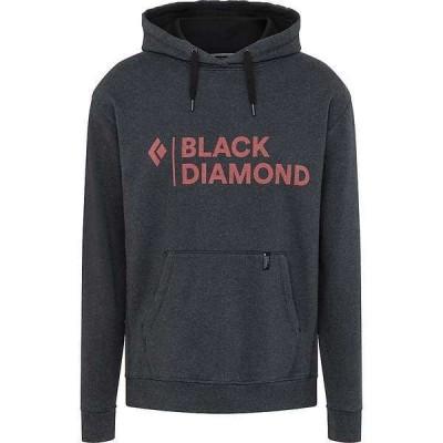 ブラックダイヤモンド メンズ パーカー・スウェット アウター Black Diamond Men's Stacked Logo Hoody